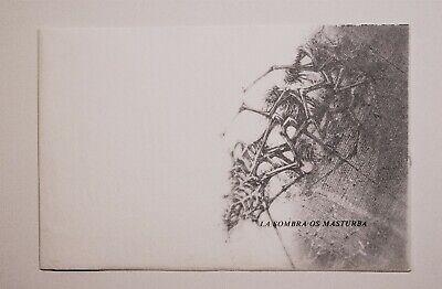 """Serigrafía de Manuel Rivera, La sombra os masturba. """"Dialogo entre MR 8"""