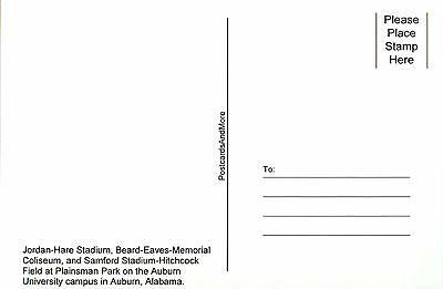Auburn University Alabama Plainsman Park College Football etc - Stadium Postcard 2