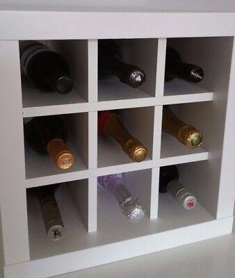 Wine Rack Insert For Ikea Kallax, Wine Bottle Storage Inserts