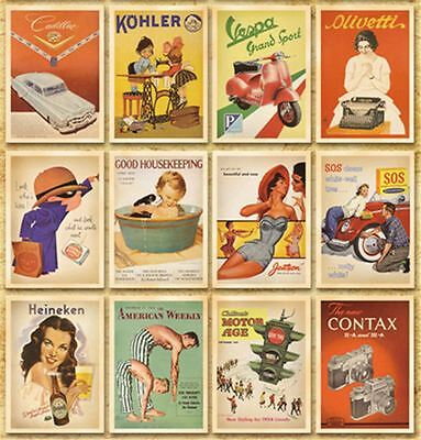 Lot of 32 Postcard Vintage Slogan Poster Photo Picture Poster Post Cards 5