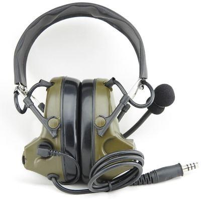 9d8558a3013 ... Airsoft Tomtac Comtac Ii 2 Headset Mic Boom Radio Peltor Design Od  Green 2