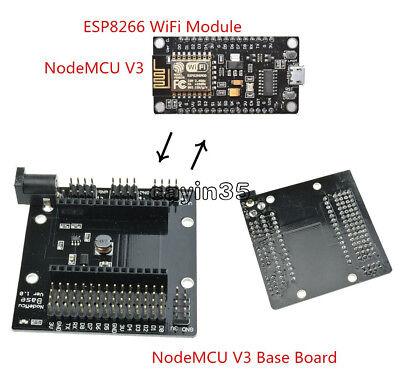 NodeMcu V3 Lua CH340G ESP8266 I/O Breakout Expansion/Development Board Module 2