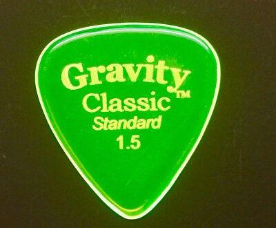 Gravity Picks Europe Classic Razer Sunrise Plectrum 5