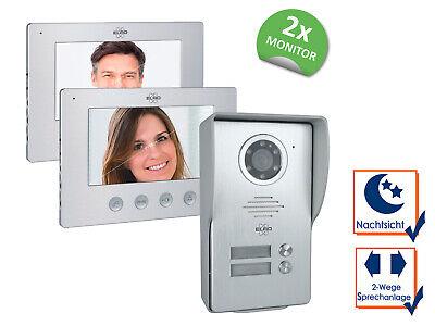 Video Klingelanlage mit Türöffner, Gegensprechanlage Kamera für Zweifamilienhaus 2