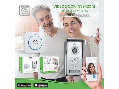 IP Sprechanlage mit Funkklingel für Smartphone, Gegensprechanlage 1 Familienhaus 6