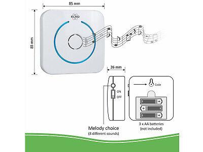 IP Sprechanlage mit Funkklingel für Smartphone, Gegensprechanlage 1 Familienhaus 3