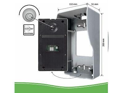 Video Türsprechanlage mit Monitor & Kamera 4-Draht Klingelanlage Einfamilienhaus 7