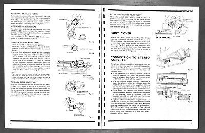 Sound & Vision Operating Instructions for Pioneer PL-570 Manuals ...