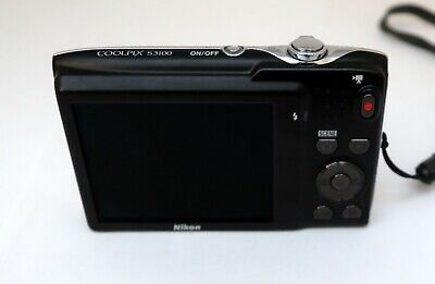 NIKON COOLPIX S3100 14mp 4,6-23,0mm. Wide 5x zoom Nikkor HD movie 2,7-in LCD VR 4