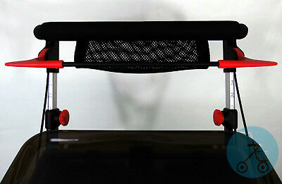 NEU IndoorRollator Pixel leicht Toffee Tablet Tasche stabil schmal Bremse wendig
