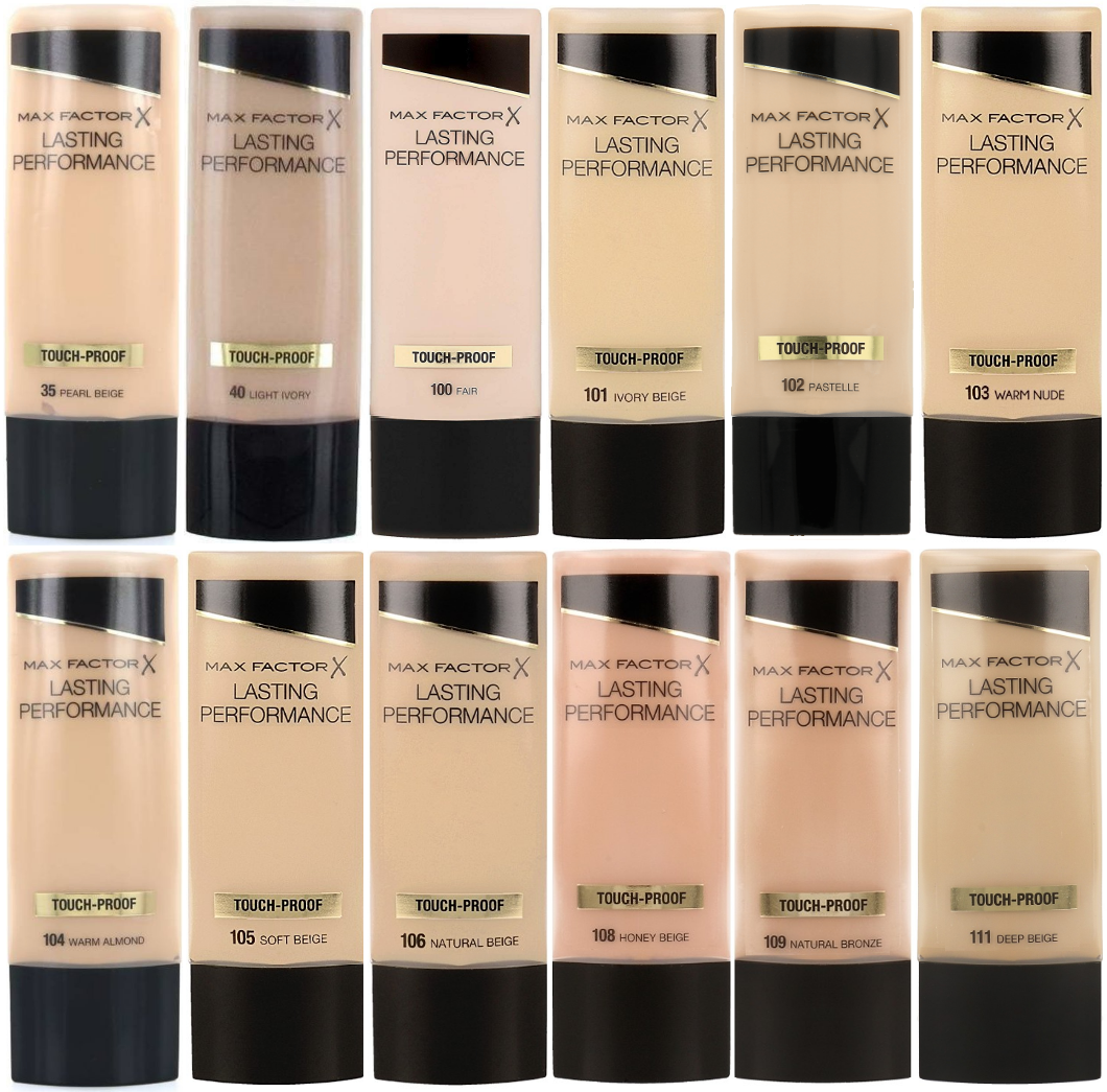 MAX FACTOR Lasting Performance Touch-Proof Liquid Foundation 35ml *CHOOSE SHADE* 6