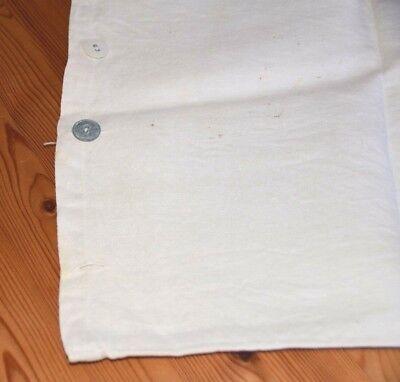 Altes kleines Leinen Baby Kissenbezug Kopfkissen 40 x 33 cm 2