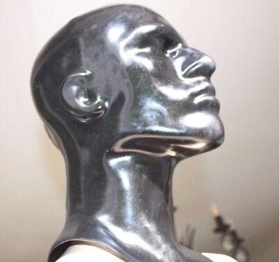 Latexmaske, Reißverschluß, Latex-Maske, rubber hood, mask zip geschl.0,7