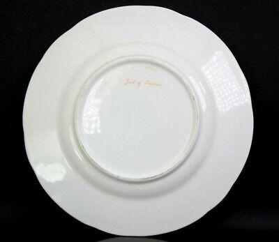 Antique Fine English Porcelain Plate Foot of Snowdon Pat 2399 Circa 1850 5