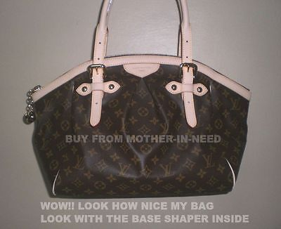 521bbf150aaa ... Brown Base Shaper Liner that fit the Louis Vuitton Tivoli GM bag 5