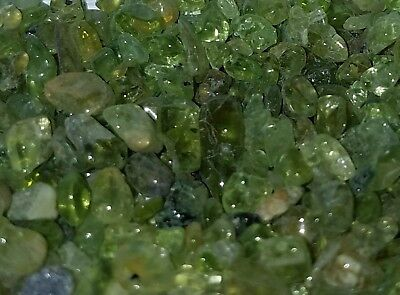 Hawaii Volcano green gems gemstones olivine peridot chrysolite  10g