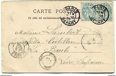 CPA - Carte postale -France- Alfortville - Le Pont - 1903 (CP422)