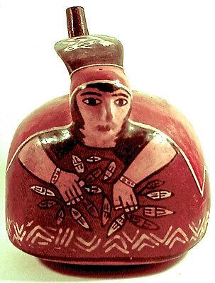 Pre-Columbian NASCA POLYCHROME VESSEL w/COA 2