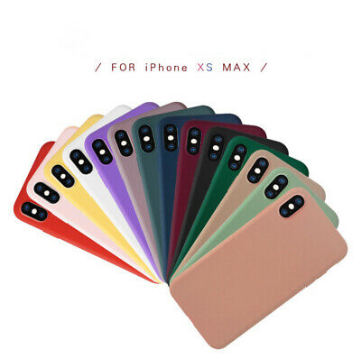 Matte Transparent Ultra-Thin Slim Case Cover Skin for iPhone X Xs/Max,11 Pro,8 7
