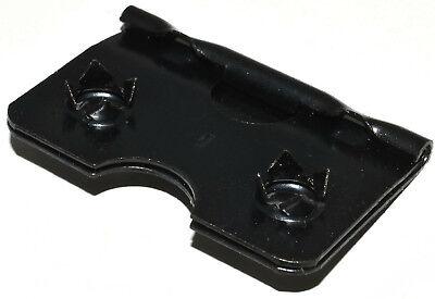 10 x 38mm BLACK EASEL STRUT HINGE PICTURE FRAMING FRAME HINGES HINGING SELF FIX 2