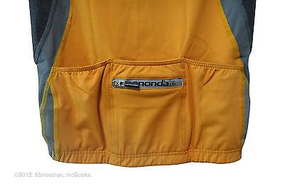 820d45cdefa93f ... women s M cycling jersey sleeveless Cannondale LE Carbon SL orange  hidden zipper