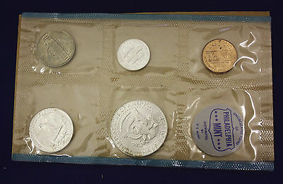 "1964 Official U.S. Mint Set. Complete and original. 10 coins Both ""P"" & ""D"" 4"