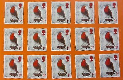100 1st Class Stamps Unfranked Off Paper *WITH ORIGINAL GUM* Easy Peel And Stick 5