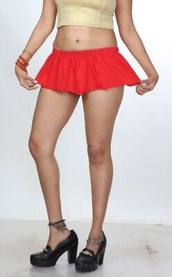 d70641ad5afa3b ... Just Short Skirt 8 inch Red Divas Micro Mini Skirt Stretchy Women Mini  Skirt 002 5
