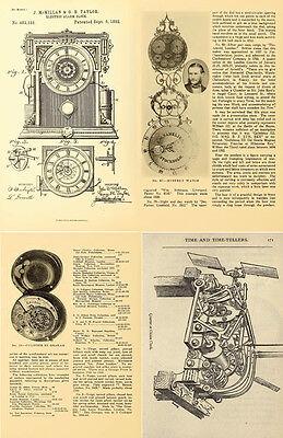 125 Rare Books On Horology, Pocket Watch, Clock, Sundial, Repair & More-Vol1 Dvd 11
