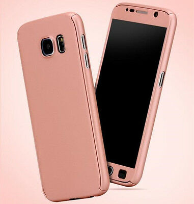 Etui Coque Housse + Film Verre Trempe Protection Integrale 360° Pour Samsung 4
