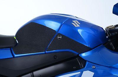 R/&G Racing Eazi-Grip Traction Pads Black to fit Suzuki DL 650 V-Strom 2012-2017