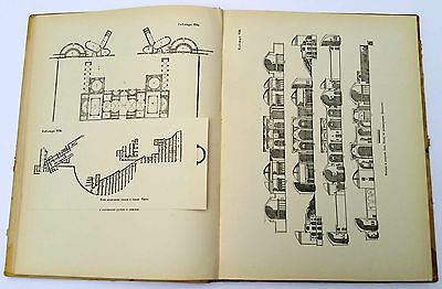 """1939 Charles Cameron Architect """"TERMS of ROMANS"""" Illustrated Book Russian Edit. 4"""