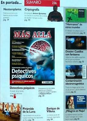 Revista Mas Allá - Nº 236 - Mc Ediciones - Ver Índice