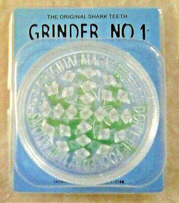 3 PART 60mm NON-MAGNETIC GRASSLEAF No 1 GRINDER FOR GRINDING HERB/GRASS 6