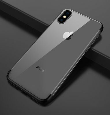 Ultra Slim Shockproof Silicone Clear Cover Case for iPhone XR XS MAX X 8 7 6s 6 10
