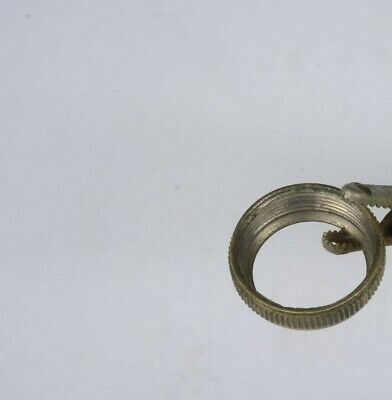Brass Ring For Porcelain/China Button. Bathroom. 3