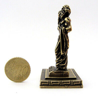 Statue Zeus King Of Gods Greek Olympian God Zamac Ancient Miniature Sculpture 2