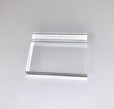 Acrylic Paperweight and Business Card Holder 3