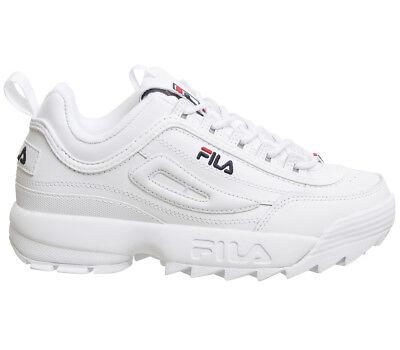 918a58ddf415e ... di 10 Women Men Originale FILA Disruptor II 2 White Authentic Shoes  Unisex Size 35-44 5
