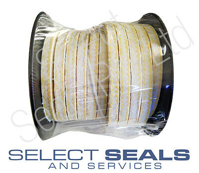 """PTFE Gland Packing 3/4"""" Style 2301 8 Meters 8"""