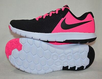 Black//Wh//Pink Girl/'s Running Shoes-Asst Size NWB PSV Nike Flex Experience RN 7