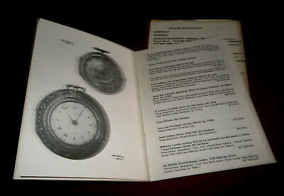 Book: CLOCKS & WATCHES. EXETER MUSEUMS & ART GALLERY. P M Inder. 1972. Illustr. 2