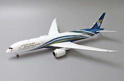 Oman Air B787-9 Reg:A4O-SC JC Wings Scale 1:200 Diecast Models LH2118