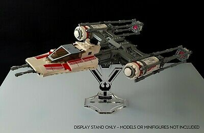 A1049 Display stand angled 3D-BK for Lego 75049-75259 Snowspeeder
