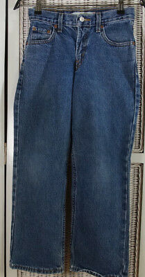 LEVI'S 550 Blue Jeans Kids' 11 Regular Relaxed Fit W25 L25 Levis Red Tab Denim 3