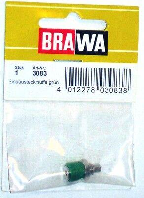 Brawa 3080–Accessorio Elettrico Boccola Da Pannello-Colori Assortiti 3