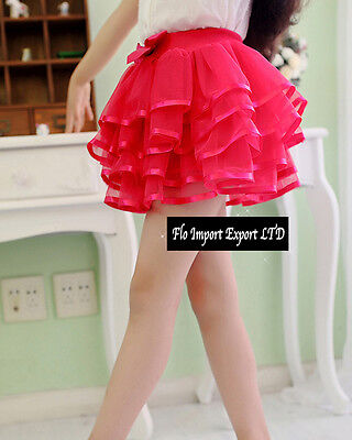 Gonna Tutù Tulle Casual Balze Bambina Girl Tutu Skirt SKIR003