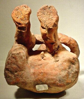 Pre-Columbian Nayarit Couple Ex Sothebys '78 7