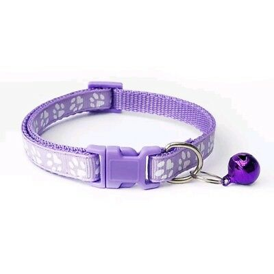Dog Cat Collar Pet Puppy Kitten Adjustable Harness Neck Strap with Bell 9