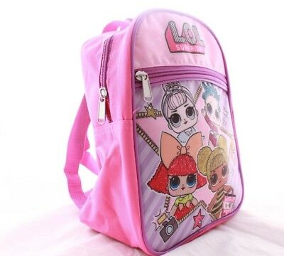 f126c1b4ecf6 ... L.O.L. Surprise lol Girls Kids Toddler Baby School Book bag Backpack  Doll Pink 2